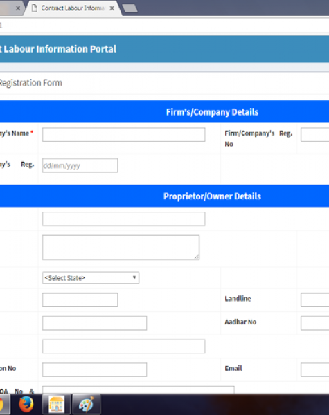 contract labour information portal in shimla