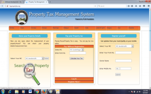 Property Tax management system